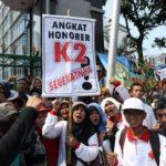 PHK2I: Kami Yakin Jokowi Akan Mengangkat K2 Menjadi PNS