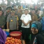 Kapolda Sumut Sambangi Pasar Petisah Medan