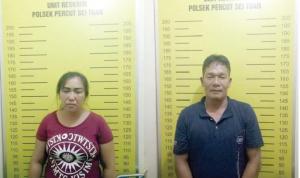 Oknum OKP dan Istrinya Ditangkap Polisi Karena