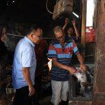 Wali Kota Binjai Tinjau Tempat Pembuatan Ikan Mangut