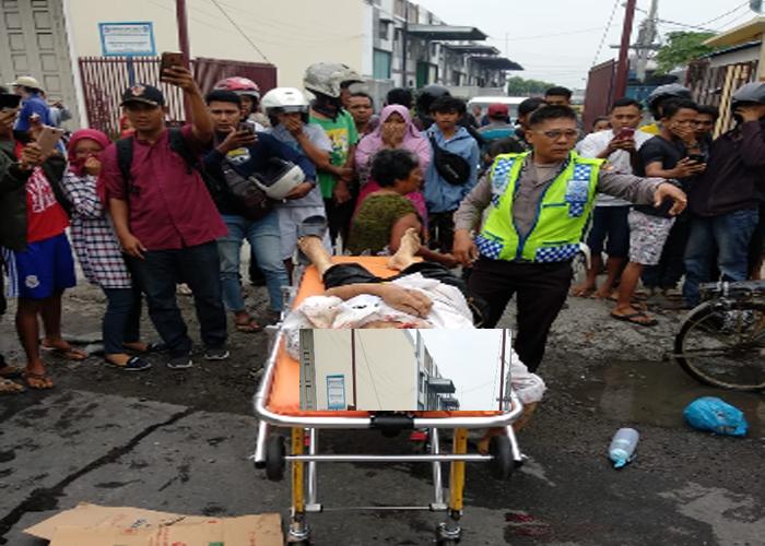 Innalillahi..!! Pengendara Sepeda Dayung Tewas Dilindas Truk Trailer
