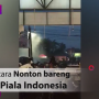 Penyerangan Lokasi Nobar PSM vs Persija