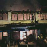 5 Unit Ruko di Pekan Labuhan Sumut Ludes terbakar