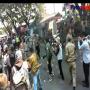 Detik-detik Seorang Polisi Terbakar Saat Kawal Demo