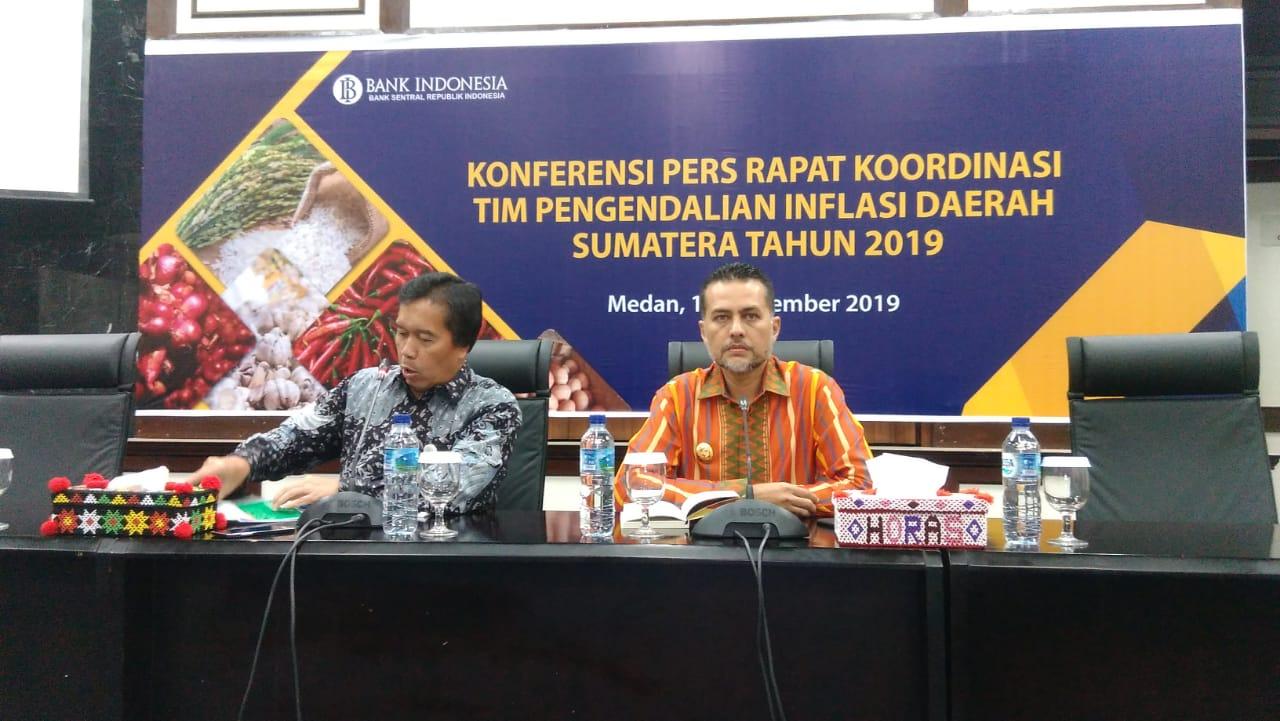 Bank Indonesia dan Pemprovsu Kendalikan Inflasi