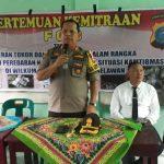Kapolres Pelabuhan Belawan Himbau Remaja Jauhi Kriminalitas