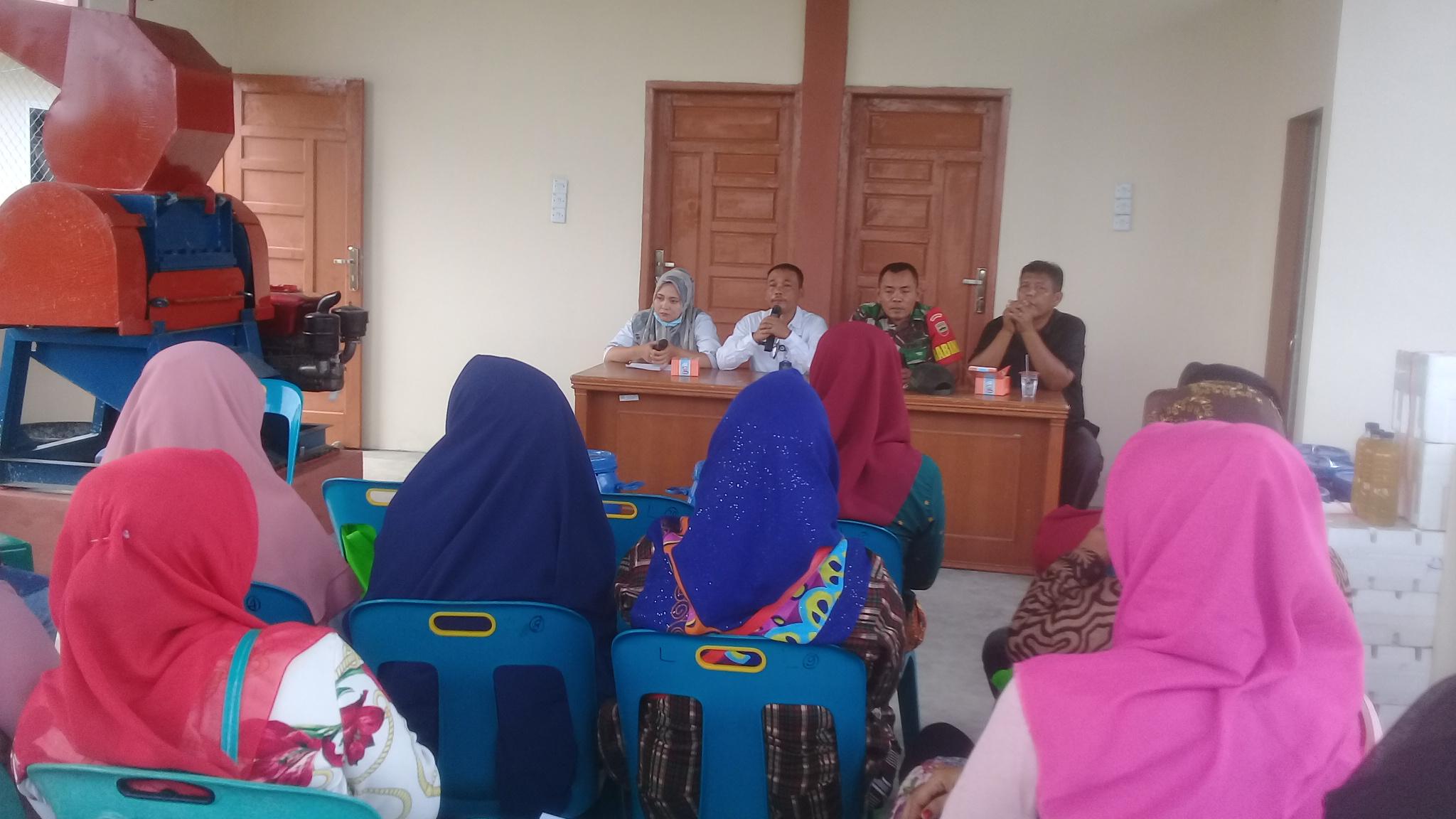Kelurahan Lalang Buat Pelatihan Pupuk Kompos dan Pemanfaatan Limbah Sampah
