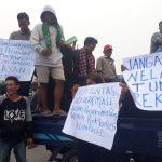 Kompensasi Tidak Tepat Sasaran, Ribuan Nelayan Seruduk Kantor Pelindo 1 Belawan