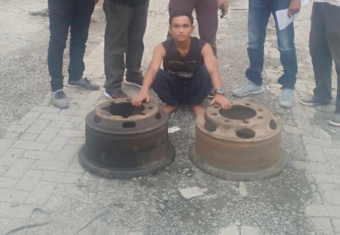 Viral Dimedsos, Satu dari Dua Pelaku Bajing Loncat Berhasil Dibekuk Satreskrim Polres Pelabuhan Belawan
