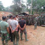 95 Personil TNI Ikut Dalam Pembukaan Jalan Desa