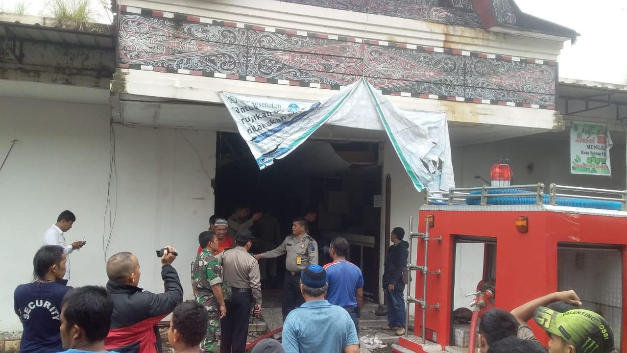 Gedung Eks Rumah Sakit Herna Nyaris Terbakar