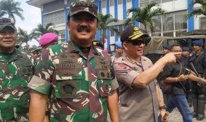 Panglima TNI dan Kapolri Cek kesiapan Pengamanan Detik-detik Pelantikan Presiden RI