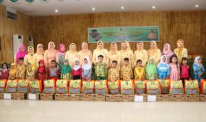 GOPTKI Beri Makanan Tambahan Untuk Anak Paud dan TK