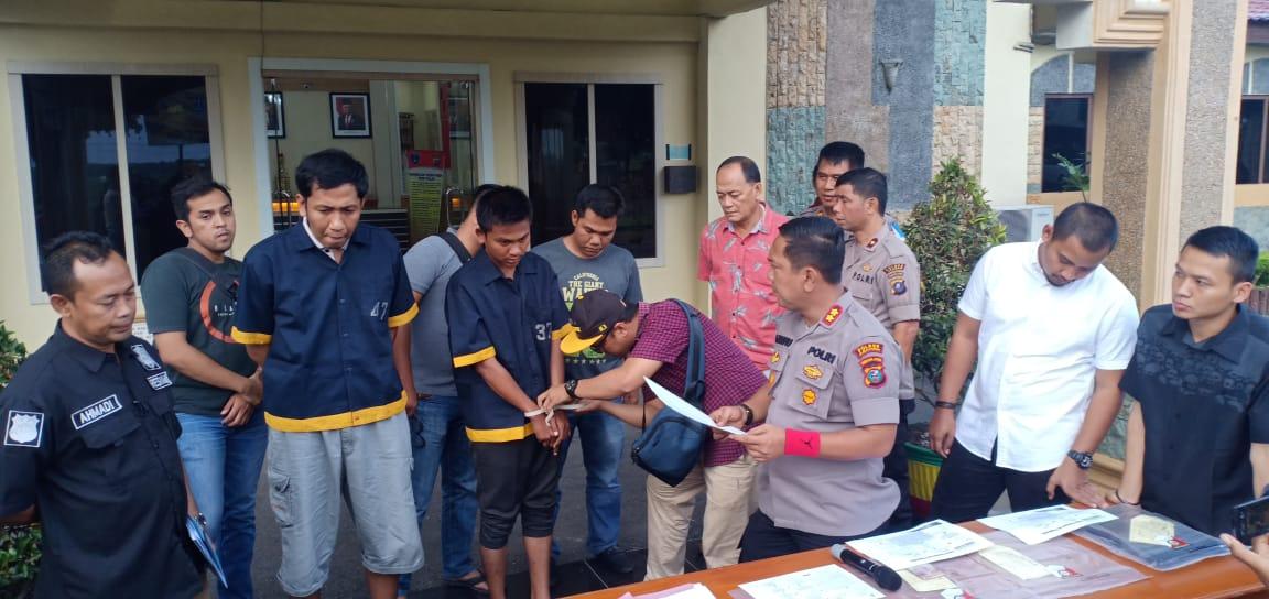 Peras Pengusaha SPBU Dengan Modus Akan Lakukan Aksi Unjuk Rasa, Ketua OKP diciduk Polisi