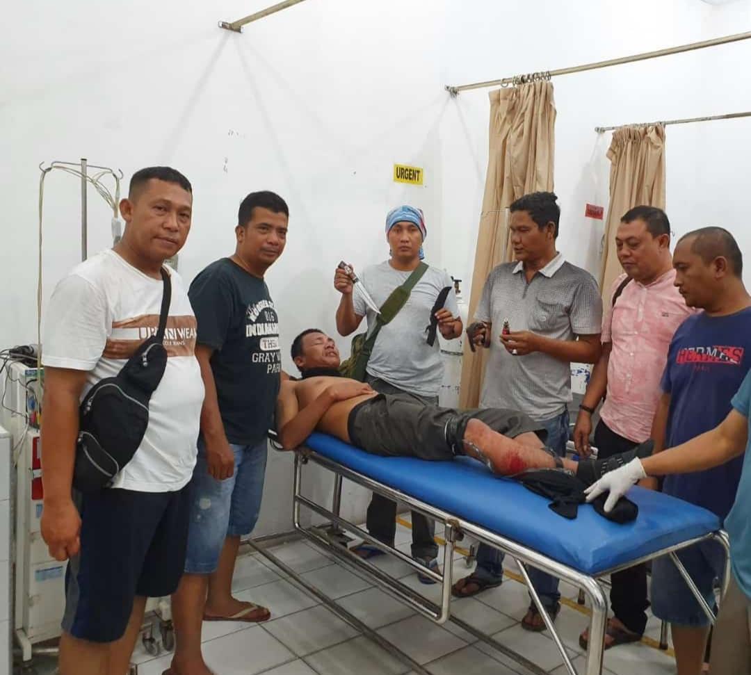 Doorr..!! Resedivis Spesialis Perampok Dalam Angkot Dilumpuhkan Dengan Timah Panas