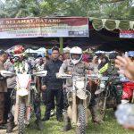 Kapolda Sumut dan Pangdam I/BB Melaksanakan Trail Bersama