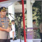 Kapolresta Tangerang Tegaskan Agar Humanis saat Laksanakan Pam Pilkades