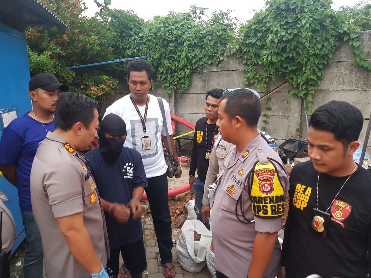 Polisi Ungkap Dalang Pemilik Benda Menyerupai Bom