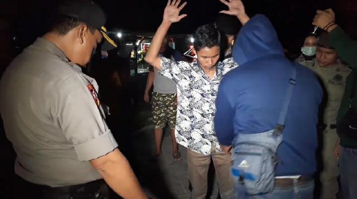 Polres Asahan Melaksanakan Razia Cipta Kondisi, 42 Orang Diamankan