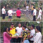 PPN Nias Utara Kunjungi Korban Kebakaran Rumah di Tetehesi Sorowi