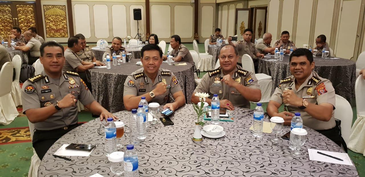 Kabid Humas Polda Banten, Hadiri Acara Anev dan Konsolidasi Humas Polri