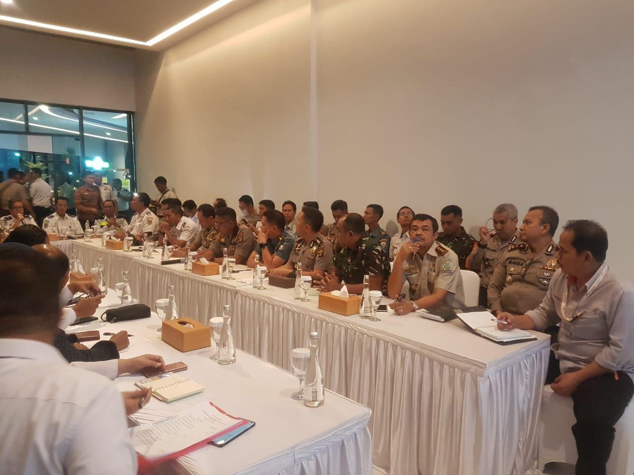 Polda Banten Hadiri Rapat koordinasi kesiapan Pengamanan Natal 2019 dan Tahun baru 2020