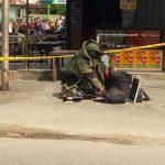 Warga Dihebohkan Penemuan Tas Diduga Berisi Bom Depan Mapolres