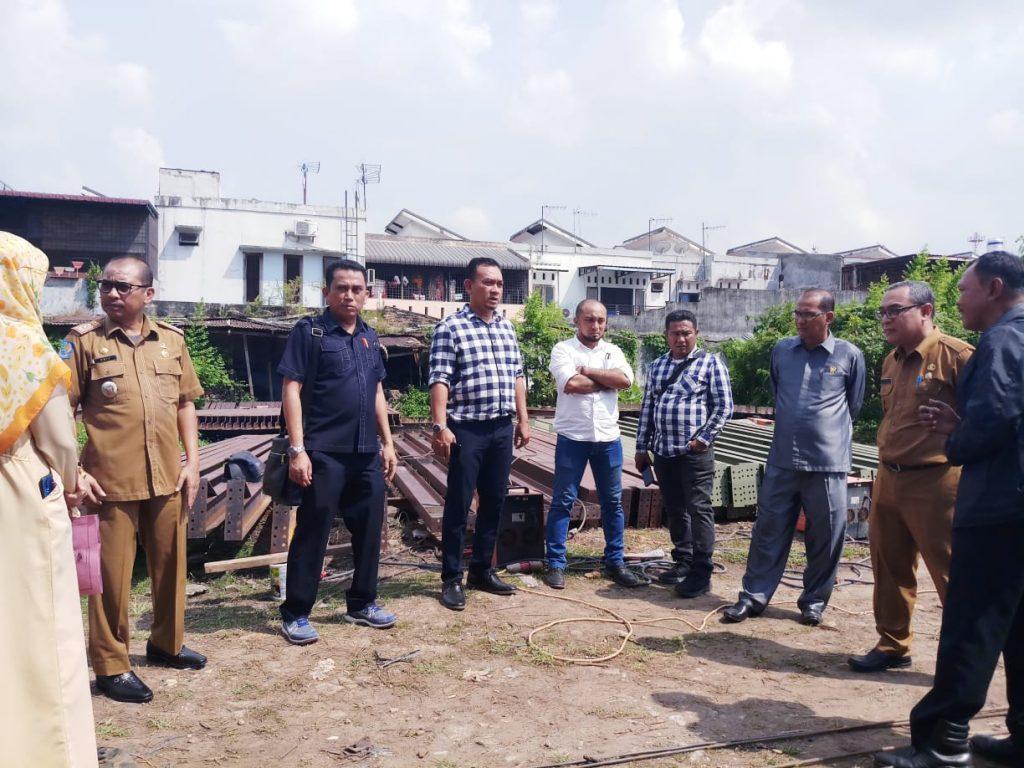 DPRD Medan Minta Kasatpol PP Hentikan Operasional Bengkel di Amplas
