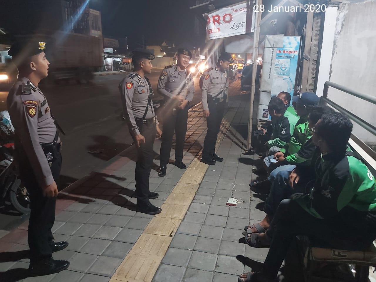 Ditsamapta Polda Banten Gelar Patroli Dialogis