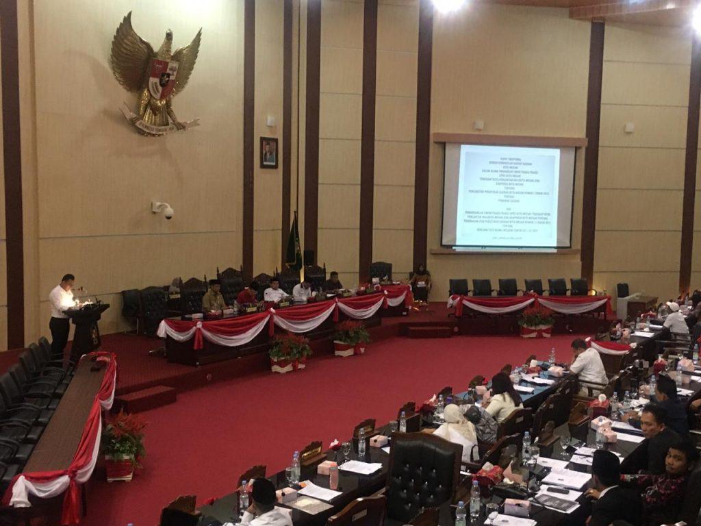 Fraksi Partai Gerindra Nilai Medan Tidak Layak Kota Idaman