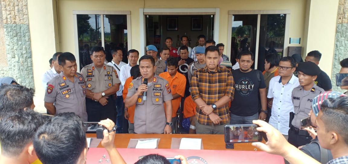 4 Pelaku Pencurian di Tembak Petugas Unit Jatanras Polres Asahan