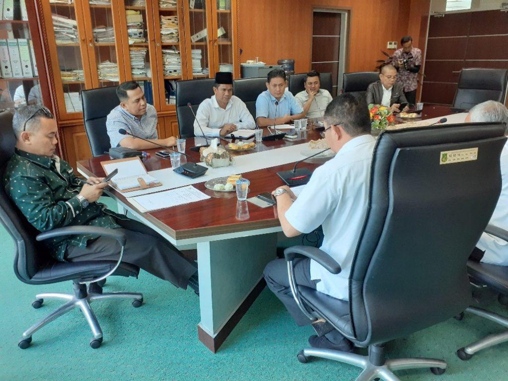 Komisi I Usulkan Ranperda RTRW Sesuai Dengan Counterpart Yang Mengajukan NA
