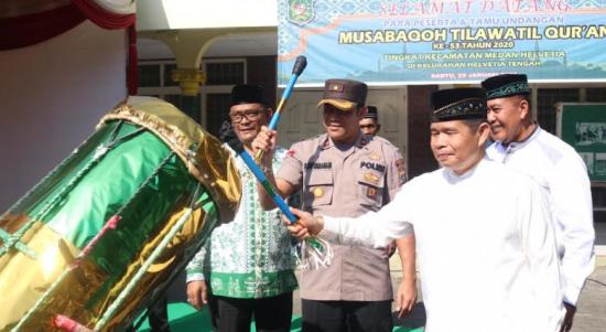 Medan Helvetia Bidik 5 Besar MTQ ke-53 Tingkat Kota Medan 2020
