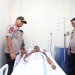 Anggota Polri Yang Terluka Saat Bertugas