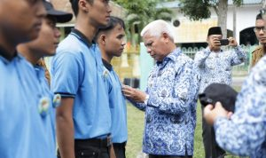 Bupati Asahan Lepas 705 Mahasiswa