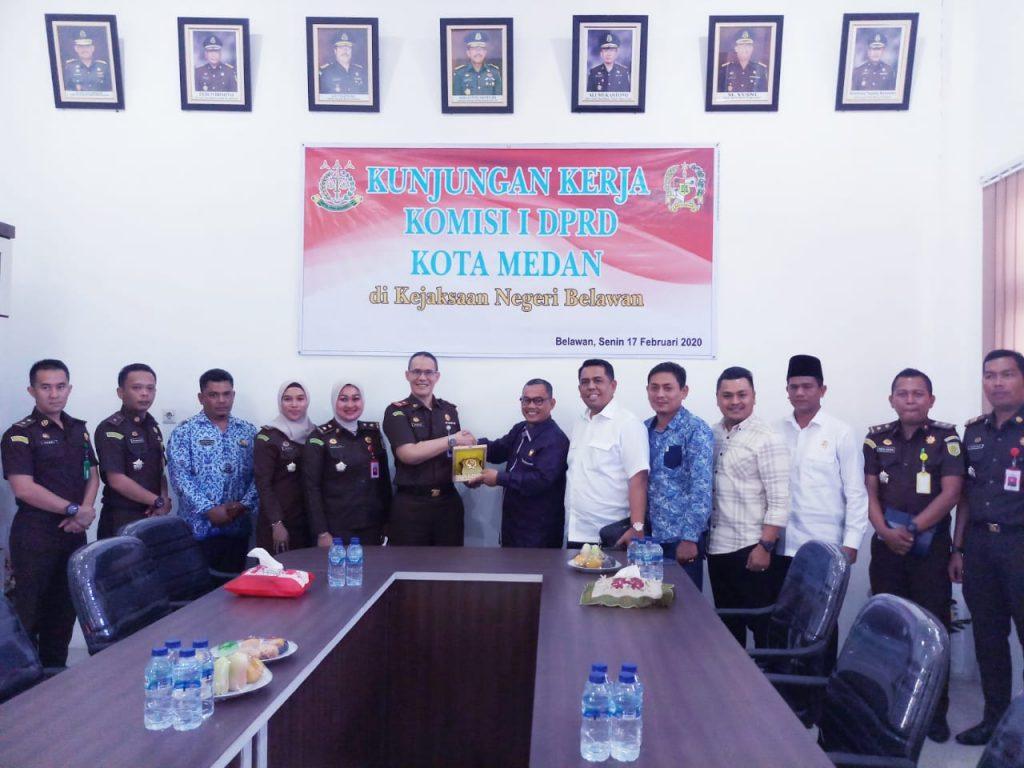 DPRD Medan dan Kejari Belawan