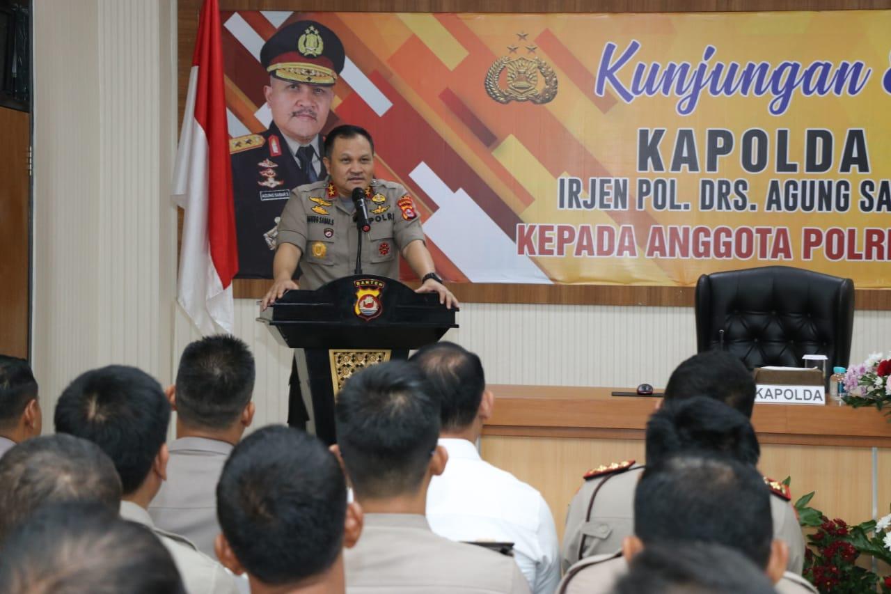 Kunker Ke Polres Tangerang