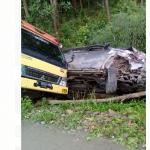 Mobil Ketua DPRD Kecelakaan