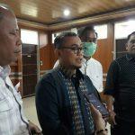 DPRD Medan Tinjau Pintu Masuk Gedung Dewan