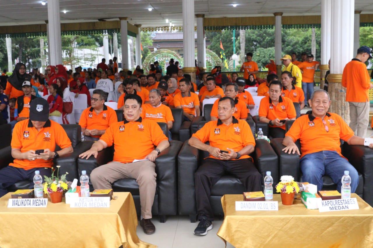 Launching Maskot & Jingle Pilkada Medan 2020