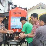 Polres Nias Sediakan 4 Sarana Cuci Tangan