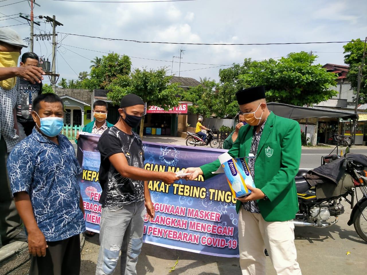 PC Himmah Bagikan Masker Geratis