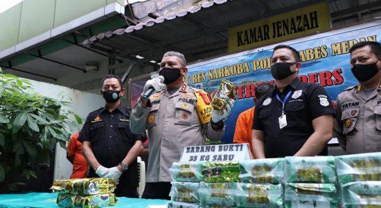 Polda Sumut Selamatkan 350 Ribu Generasi Muda Dari Narkoba