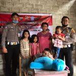 Polres Nias Santuni Anak Penyandang Disabilitas