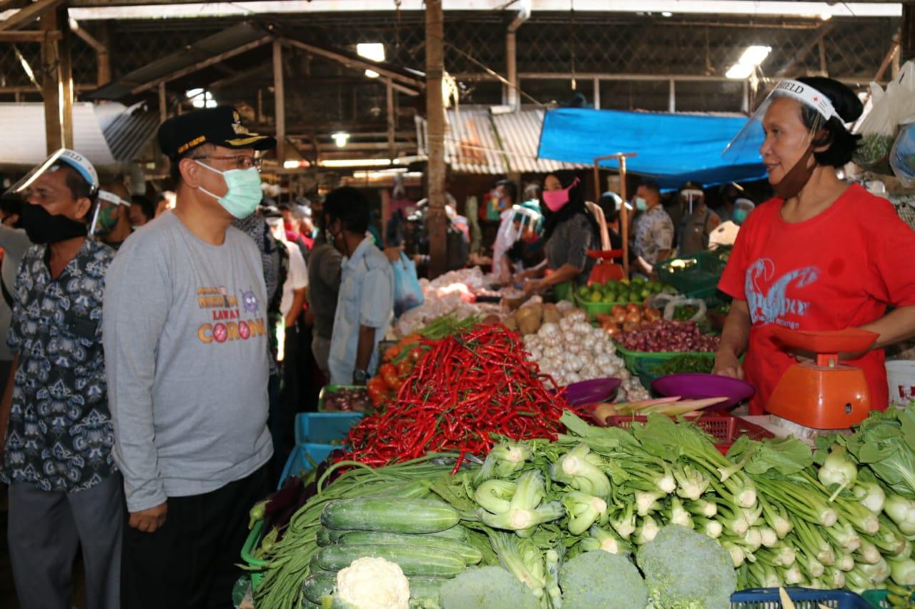 Akhyar Apresiasi PMI Sumut Wujudkan Pasar Halat Bebas Covid-19