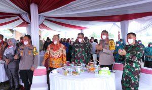 Hadiri Pesta Panen Raya Nusantara TNI-Polri Secara Virtual