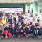 Ketua Rayon FKPPI Kecamatan Binjai Gelar Senam Bersama Dengan Mak Kreatif