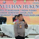 Giat Penyuluhan Hukum Di Polresta Tangerang