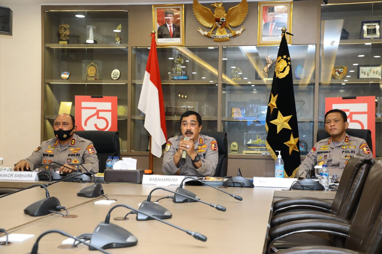 Ombudsman Zoom Meeting Bersama Kabaharkam Polri