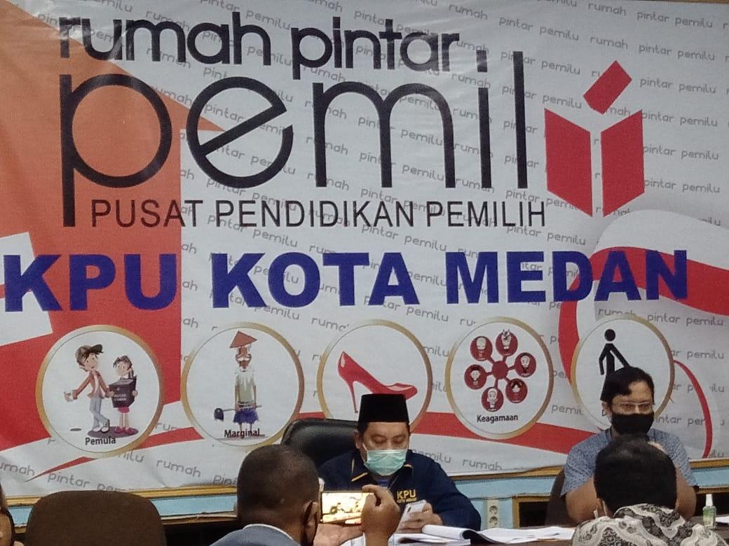 Pasangan Bakal Calon Wali Kota Medan